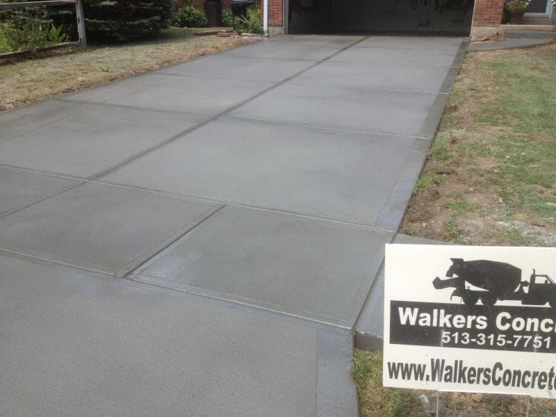 Concrete Driveway Replacement Maineville Ohio Concrete Sealing